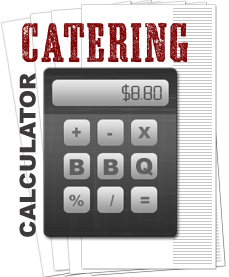 Jethro's catering calculator