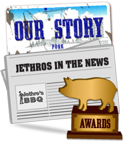 Catering, Our Story - About Jethro's Barbeque Restaurants